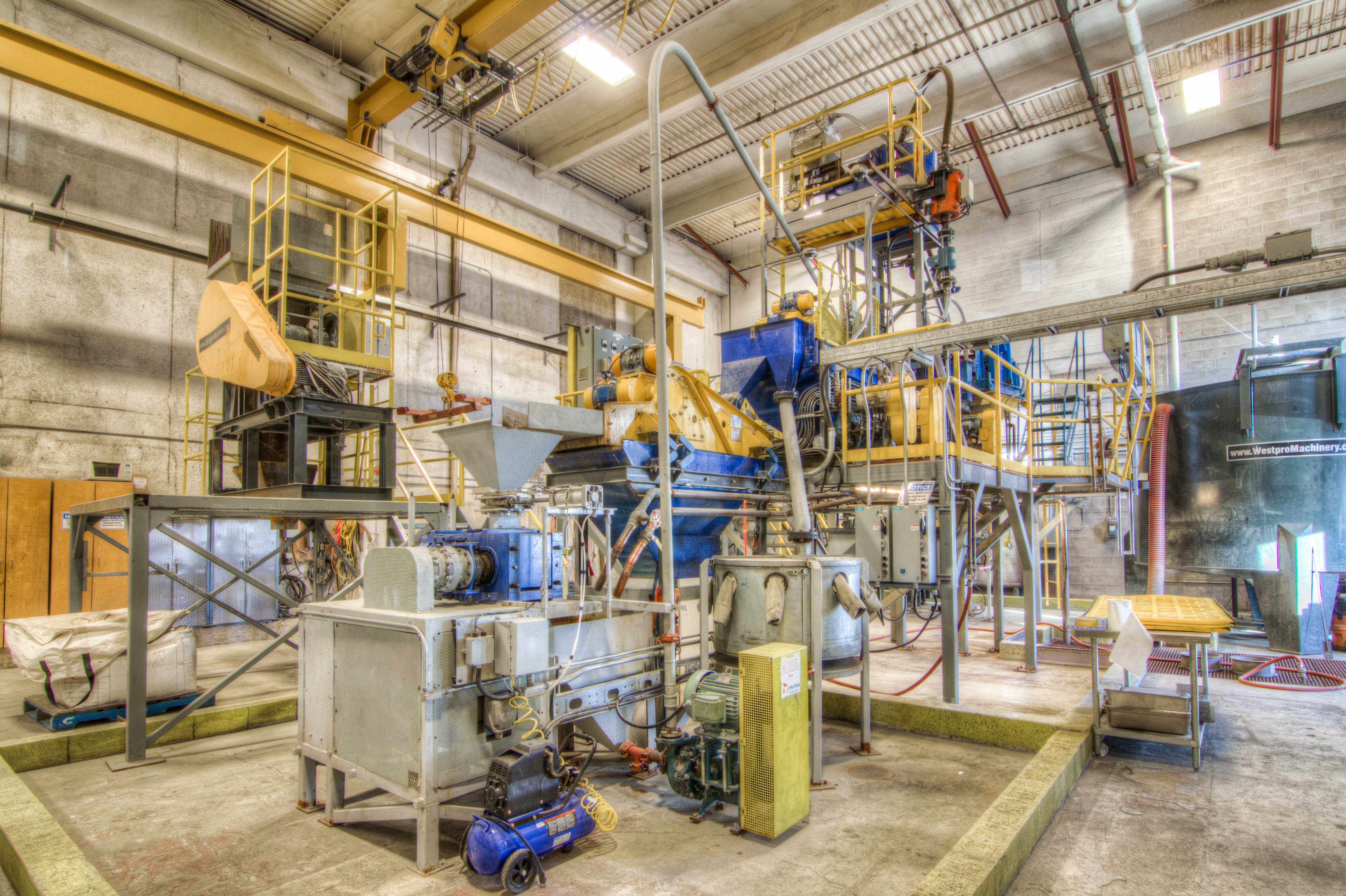 Equipment in a dense media separation plant