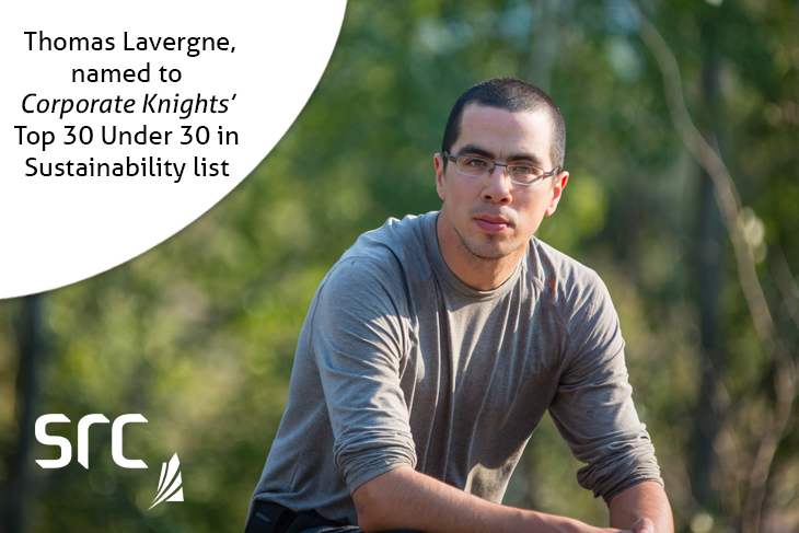 src employee thomas lavergne named to corporate knights top 30 under 30