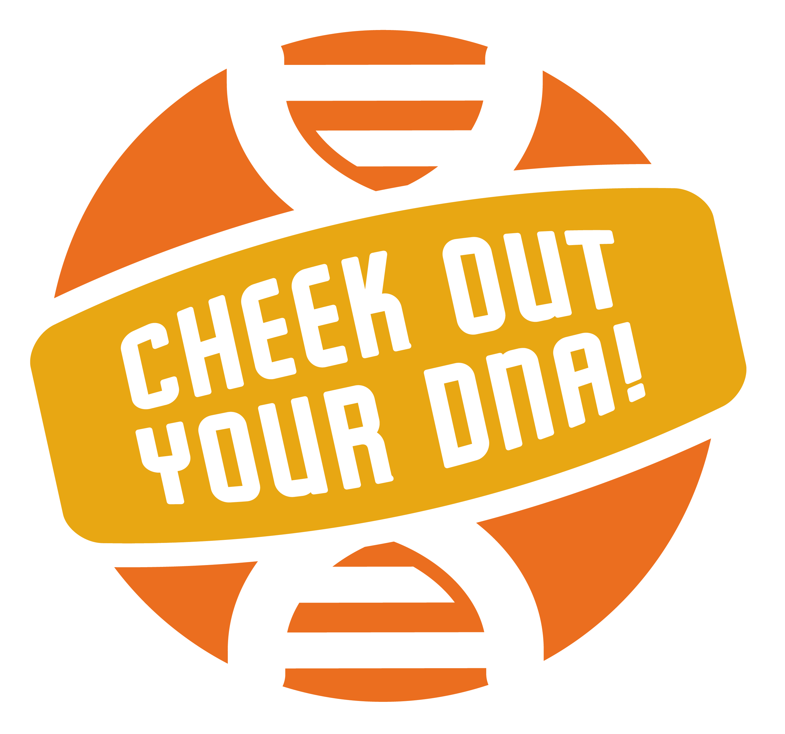 orange dna experiment logo
