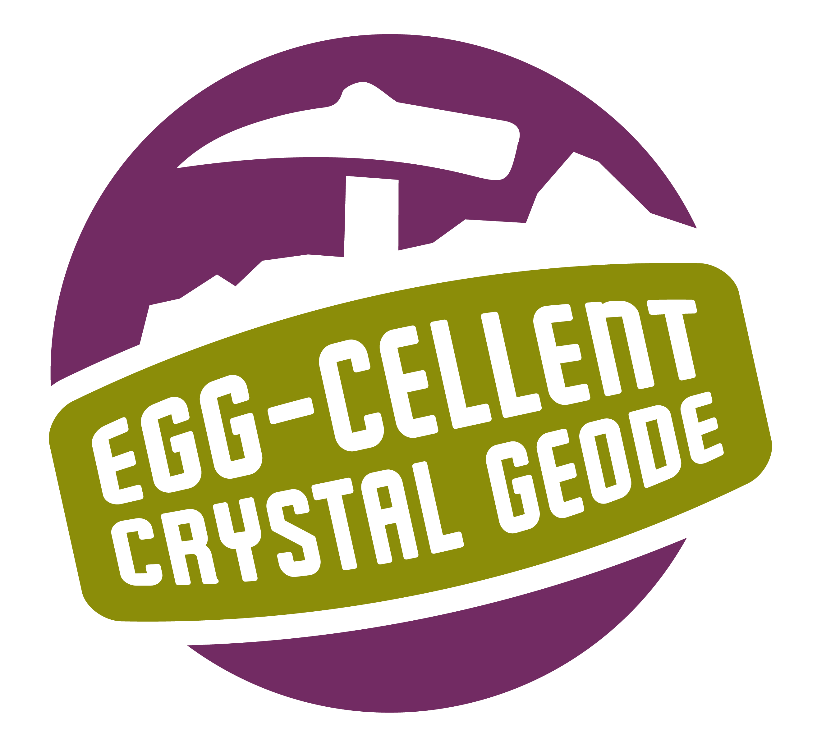 geode purple science experiment logo