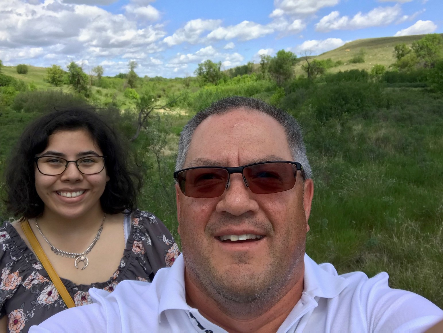 mentor and mentee in src aboriginal mentorship program