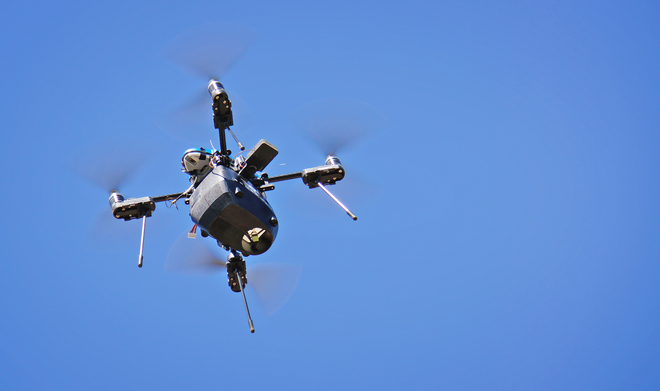 src uav detects methane gas