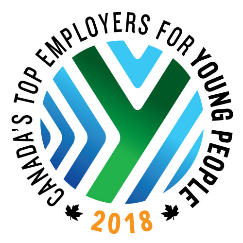 top employer for young people logo