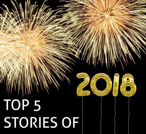 Top 5 Stories of 2018 in science and tech at SRC with fireworks