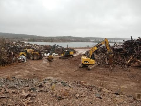 src remediation work at mine site in saskatchewan