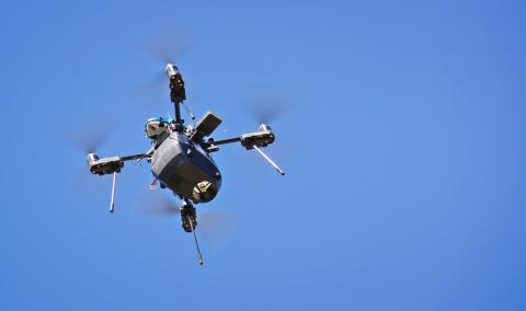 src uav used to detect methane gas