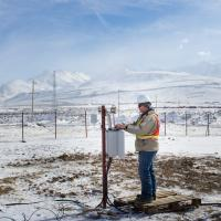 research engineer at weather station